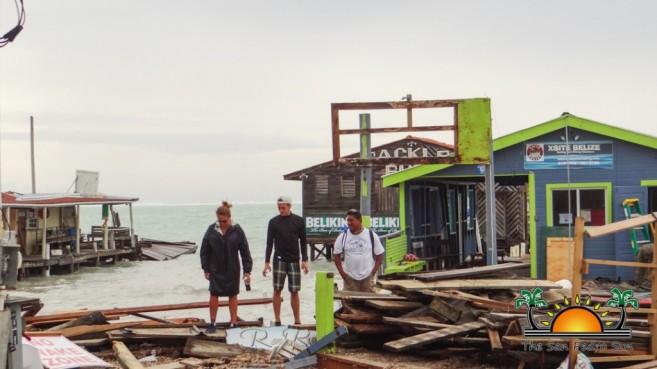 Hurricane Earl Category 1 Ambergris Caye Caulker-4