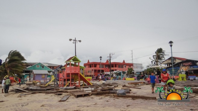 Hurricane Earl Category 1 Ambergris Caye Caulker-6