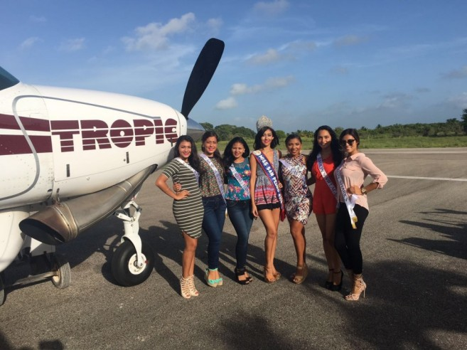 Miss San Pedro Contestants in Chetumal (1)