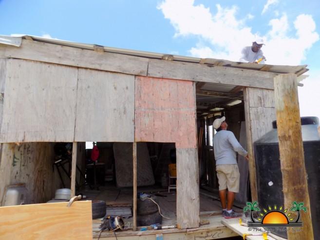 Volunteers help rebuild San Mateo-6