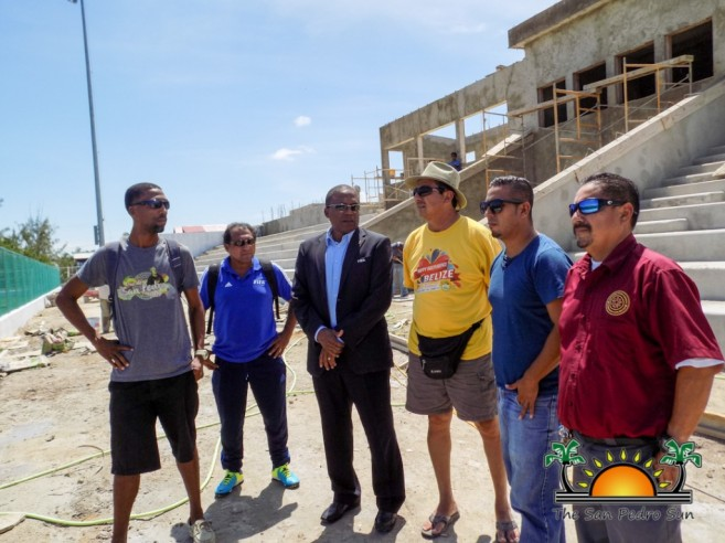Ambergris Stadium Concacaf Inspection-7