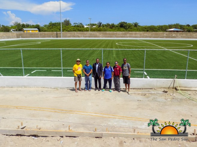 Ambergris Stadium Concacaf Inspection-9
