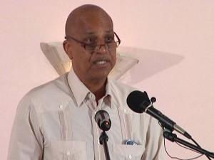 Prime Minister Dean Barrow