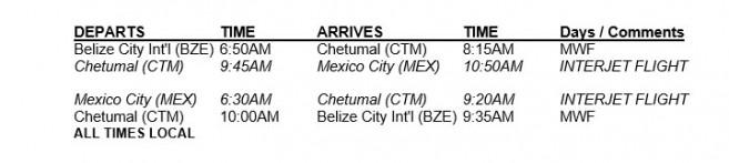 44-tropic-air-chetumal-flight-schedule