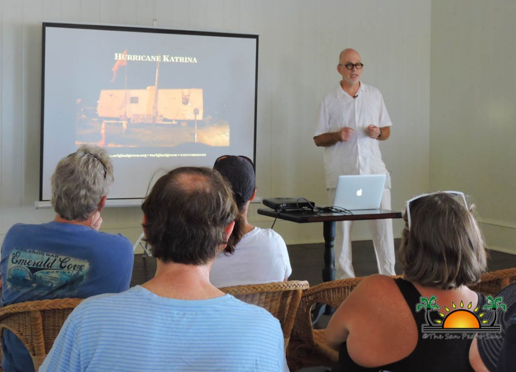 "Architect Stephen Mouzon presents ""Smart Dwellings"" talk at"