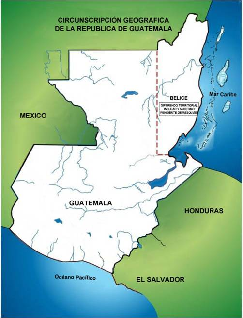Guatemala to produce maps that include Belize territory as their own ...