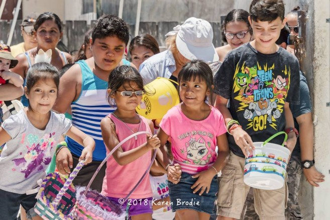 The Ambergris Caye Masonic Lodge hosts Easter Egg Hunt - The San