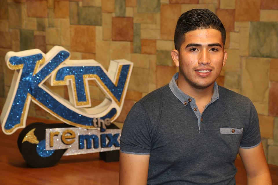 San Pedro's Guillermo Rodriguez at 2018 'KTV the Remix