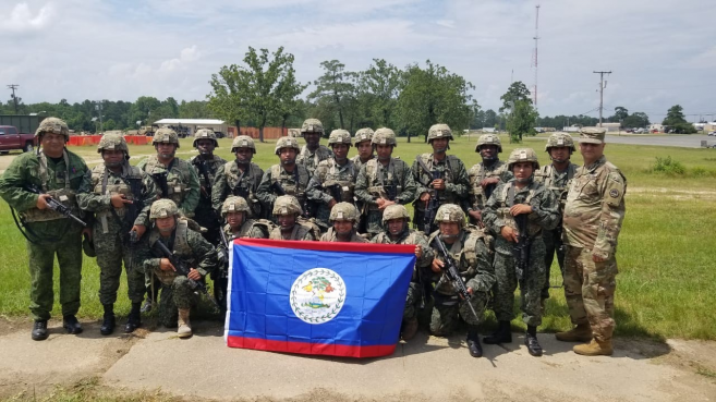 BDF Soldiers Participate in Military Exercises in Louisiana, U S A