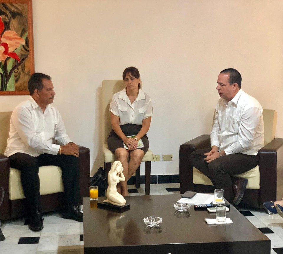 Minister of Health Heads Delegation on Official Visit to ...